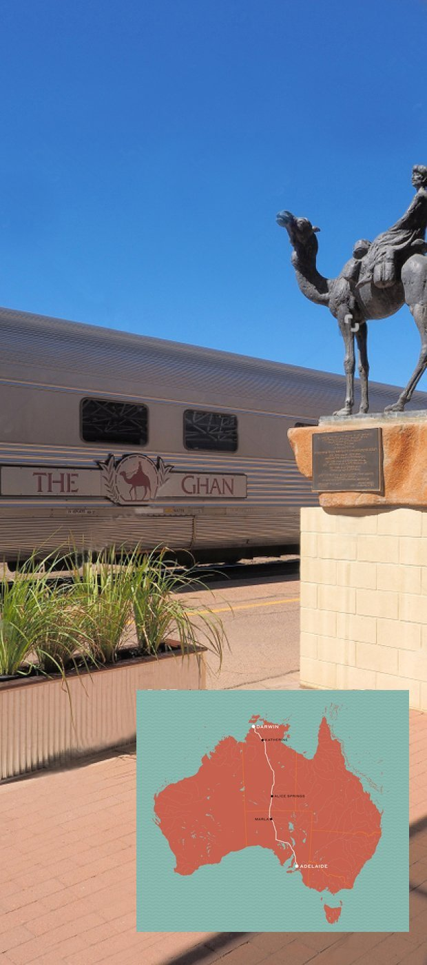 ghan train aus side image