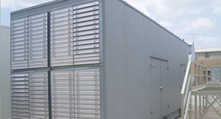 Plant rooms require enclosures constructed with suitable materials