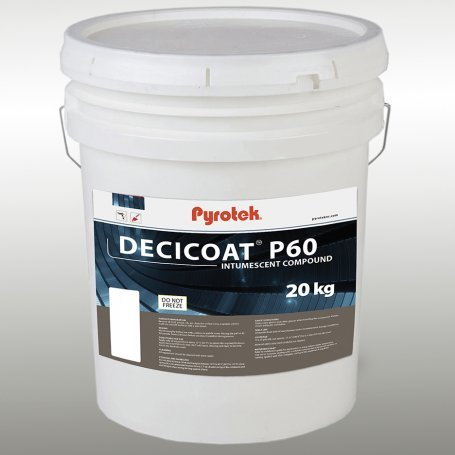 Decicoat P60 is available in 20 kg pail