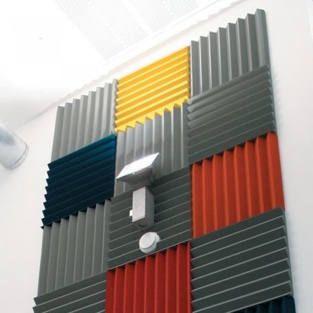 Decorative Sound Absorbing Wall Panels from www.pyroteknc.com