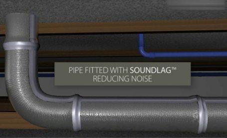 Pyrotek Soundlag - Pipe lagging, Pipe Insulation